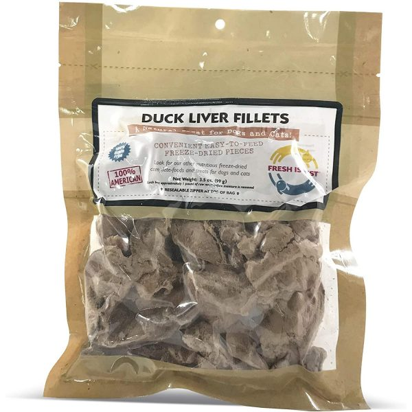 Duck liver - Raw meat